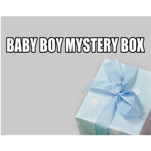 Boy Mystery Box Size 12 Months SUMMER 20+ Pieces